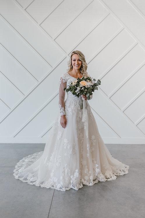 DR1963M Eddy K A-Line Wedding Dress- In Stock