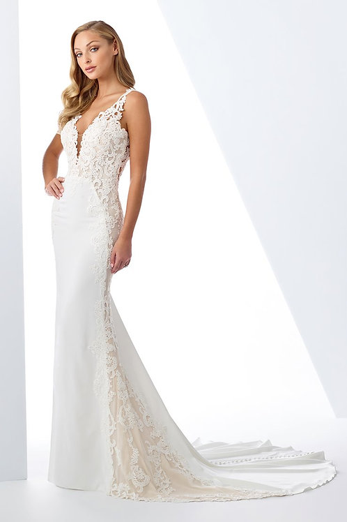 119125 Enchanting Fit & Flare Wedding Dress- To Order