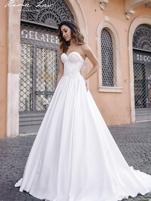 Sia Rima Lav A-Line Wedding Dress- To Order