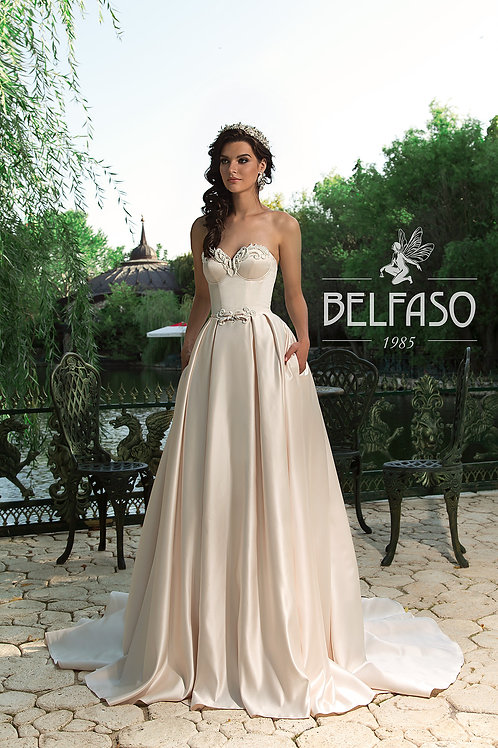 Effy Belfaso A-Line Wedding Dress- To Order