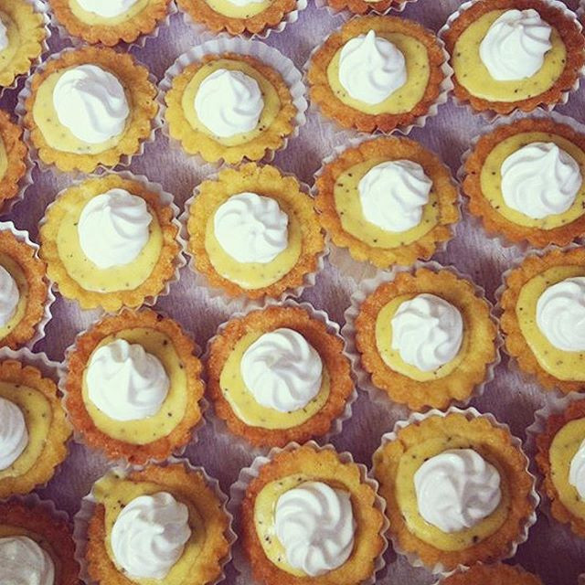 Our delicious Passion Fruit Mini Tarts
