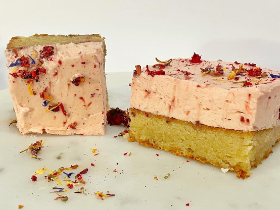 Vanilla Cake Sample