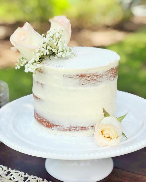 Small Semi-Naked Cake