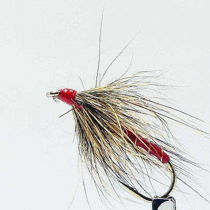 mouche de peche|mouche noyée 1 rouge AG|agpbpeche|modane