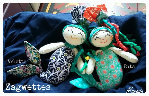 Zagwettes...Ariette et Rita.