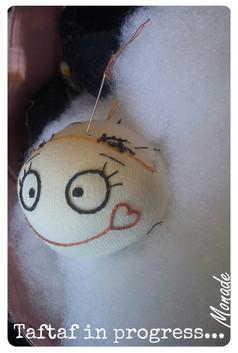 Tête de poupée Choubidouwah