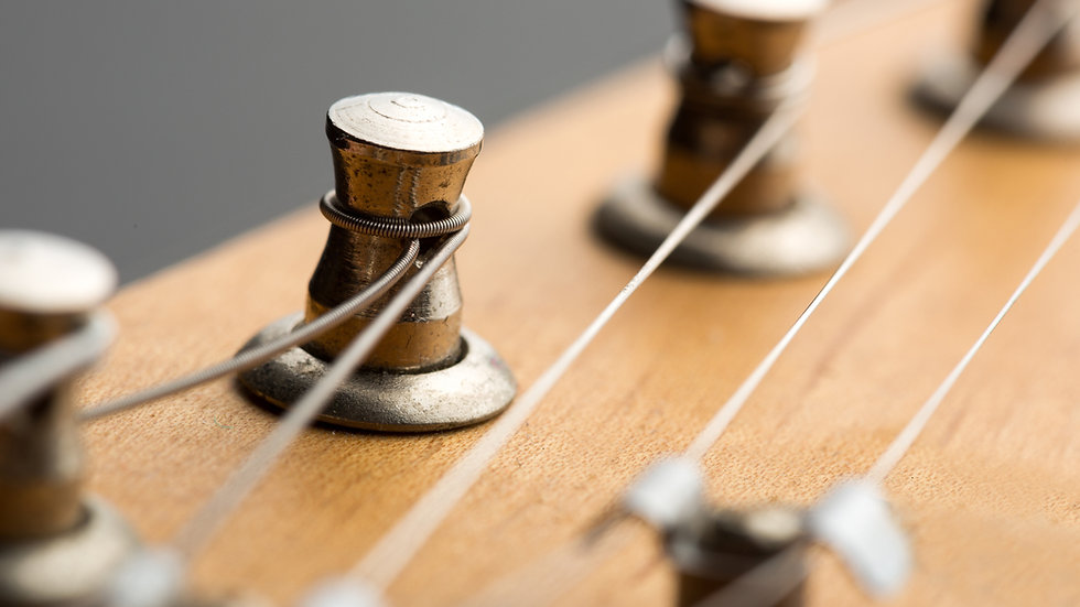 Rewire: Changing My Guitar Strings
