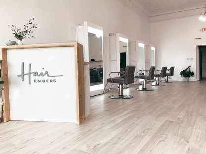 Hair Embers front desk