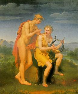 Amphion Magie Lyra Griechische Einladung