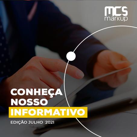 Informativo MCS Markup – Julho 2021