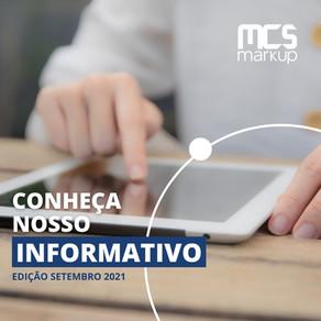 Informativo MCS Markup – Setembro 2021