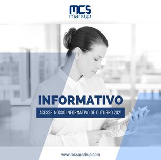 Informativo MCS Markup – Outubro 2021