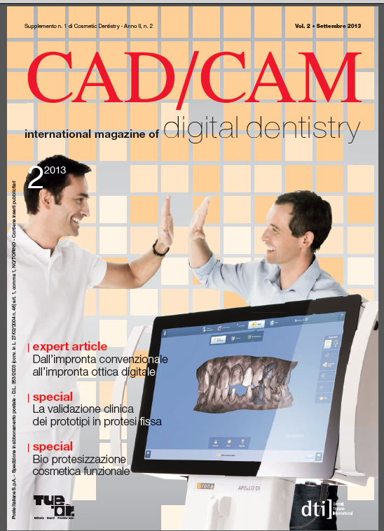 Cad Cam Digital Dentistry ita 2.2013