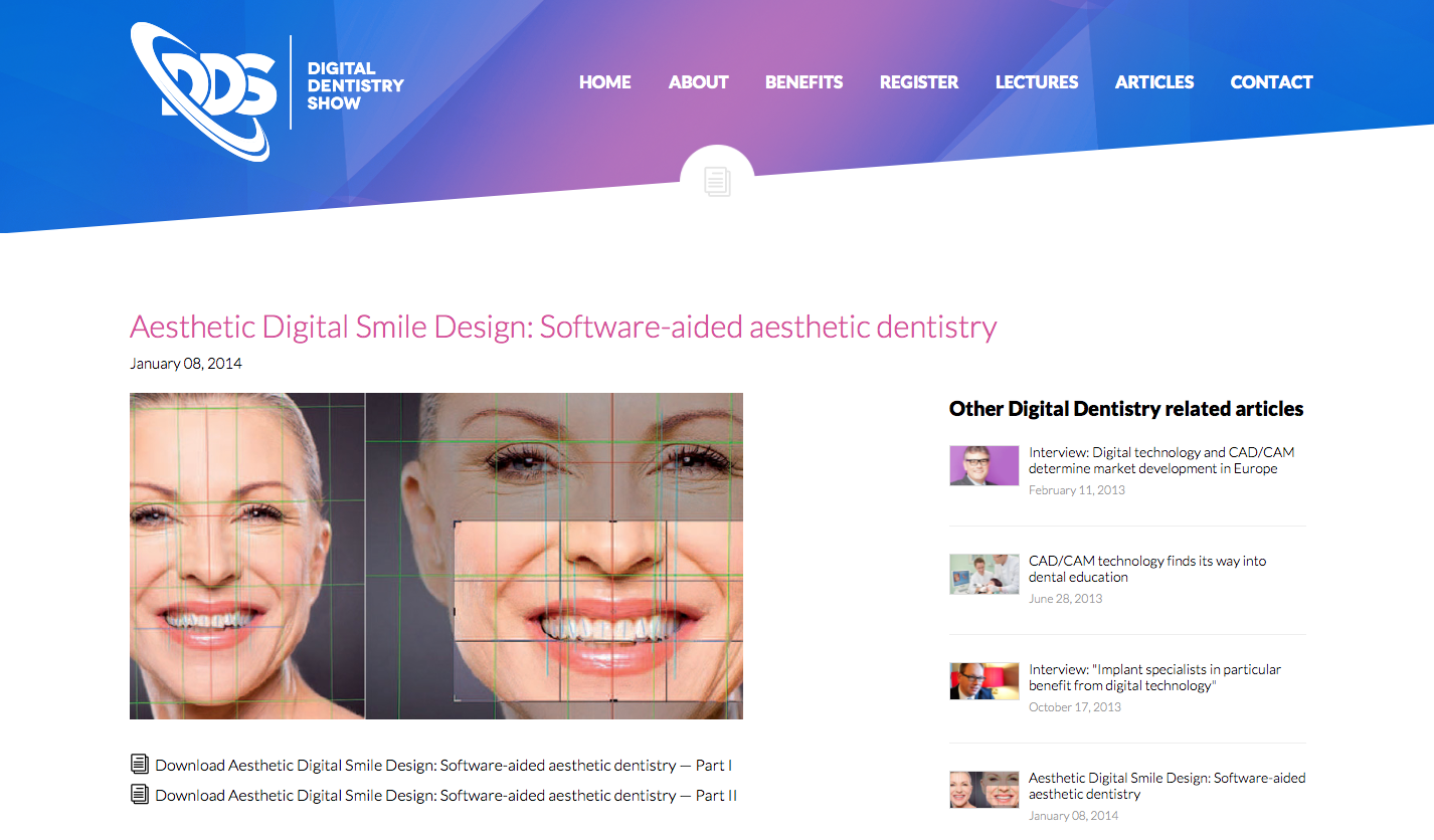 Aesthetic Digital Smile Design DDS