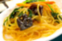 The popular Korean traditional side Japchae