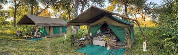 Luxury level mobile safaris