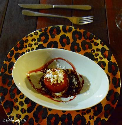 Vegan dish Africa