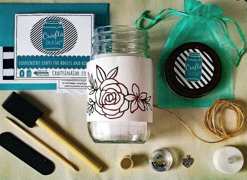 Rose Craft Jar Kit
