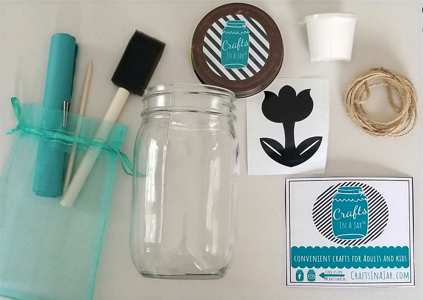 Flower Kit With Soil and Seeds