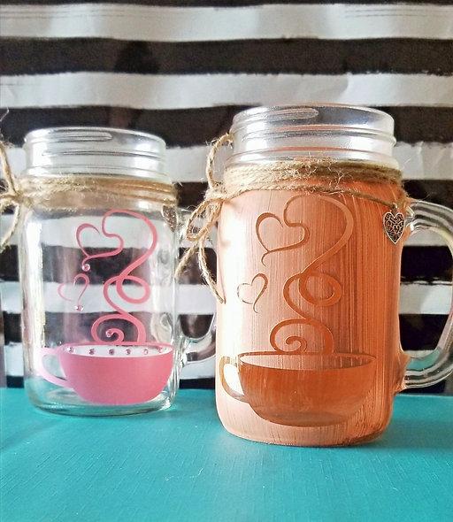Coffee Cup Craft Jar (Mug)