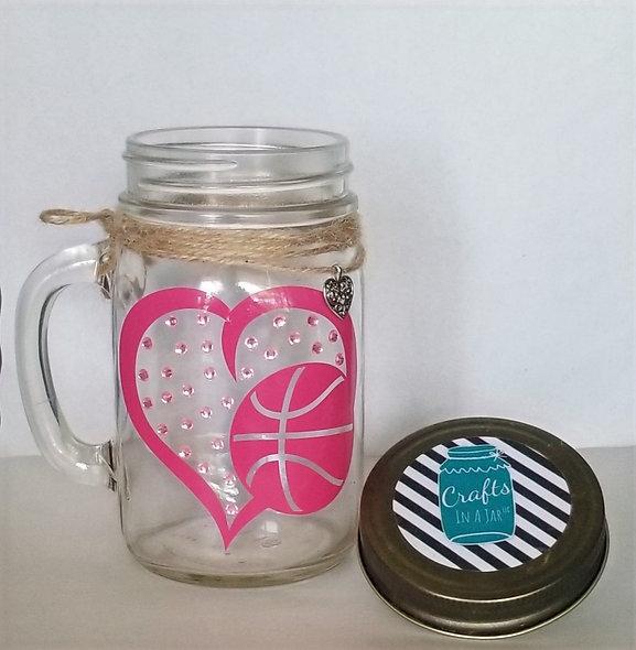 Love Basketball Craft Jar Kit