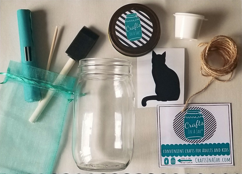Cat Kit With Soil and Seeds
