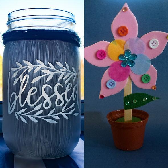 Blessed Flower Combo Jar