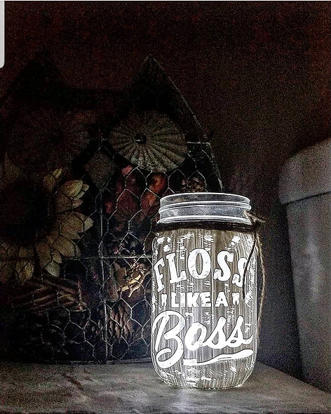 Floss Like A Boss Craft Jar Kit