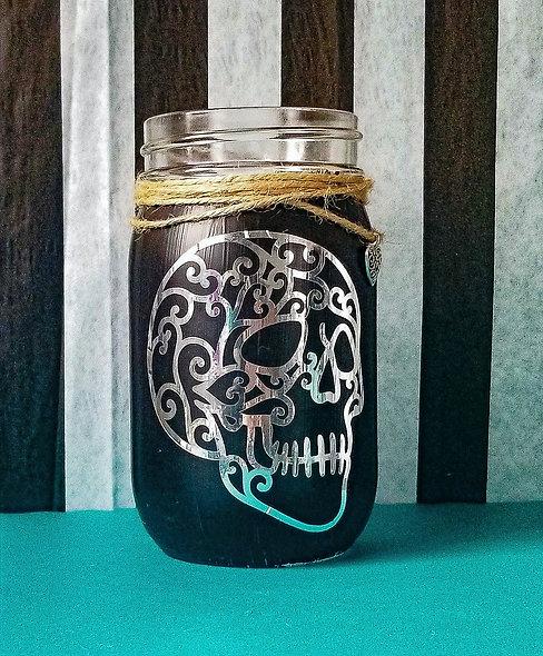 Skull Head Craft Jar Kit
