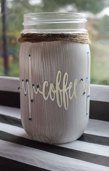 Premium Heart Beats For Coffee Craft Jar Kit