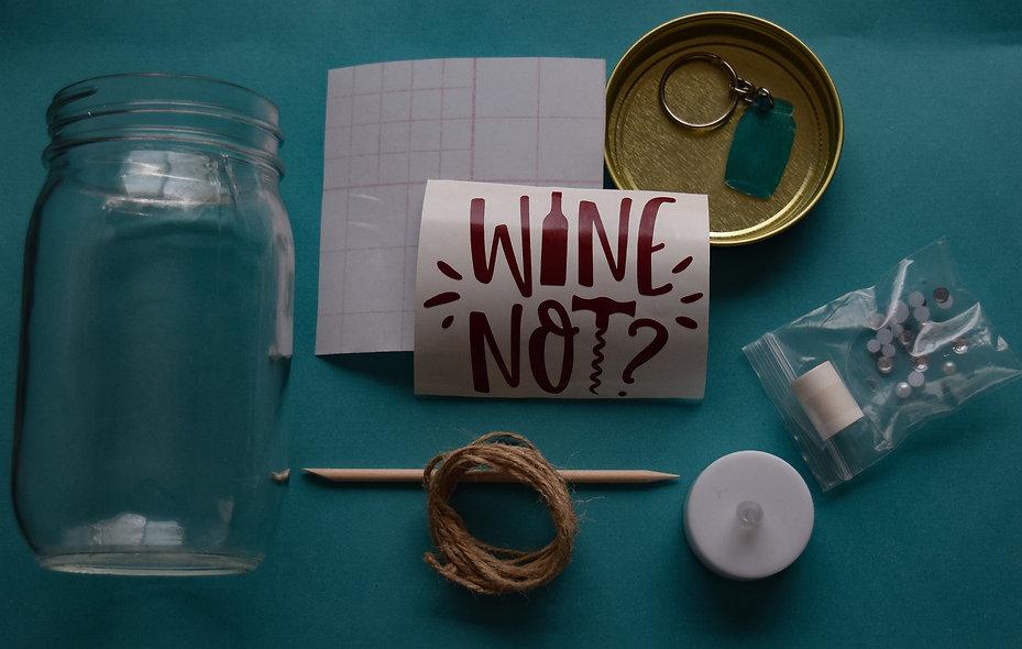 Wine Not Craft Jar Kit