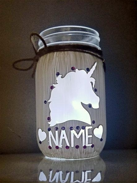 Unicorn Craft Jar Kit