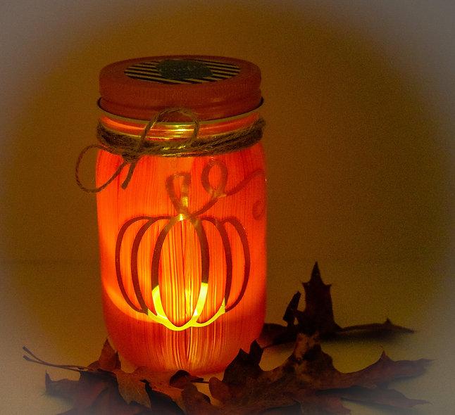 Pumpkin Craft Jar