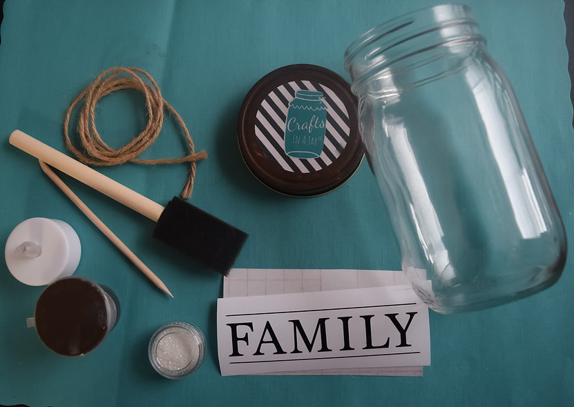 Family Craft Jar Kit