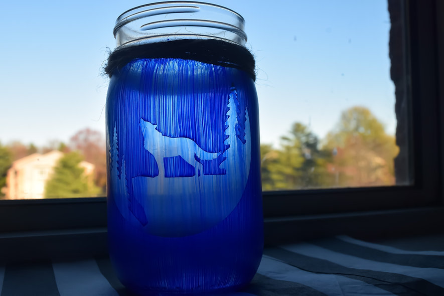 Wolf Craft Jar