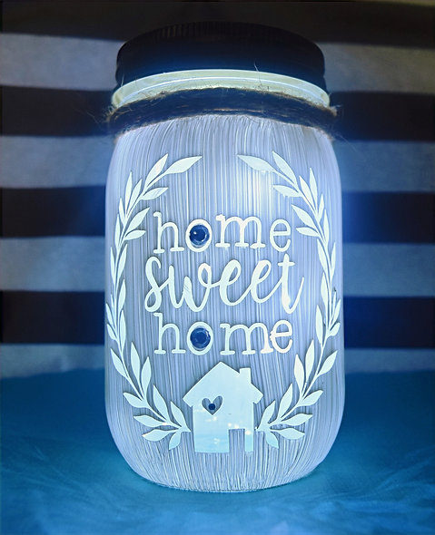 Premium Home Sweet Home Craft Jar Kit