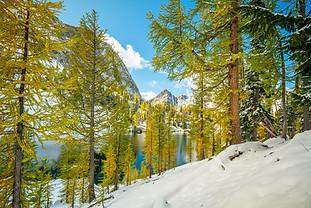 Mountains Beyond Lakes