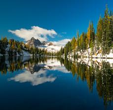 A Blue Lake