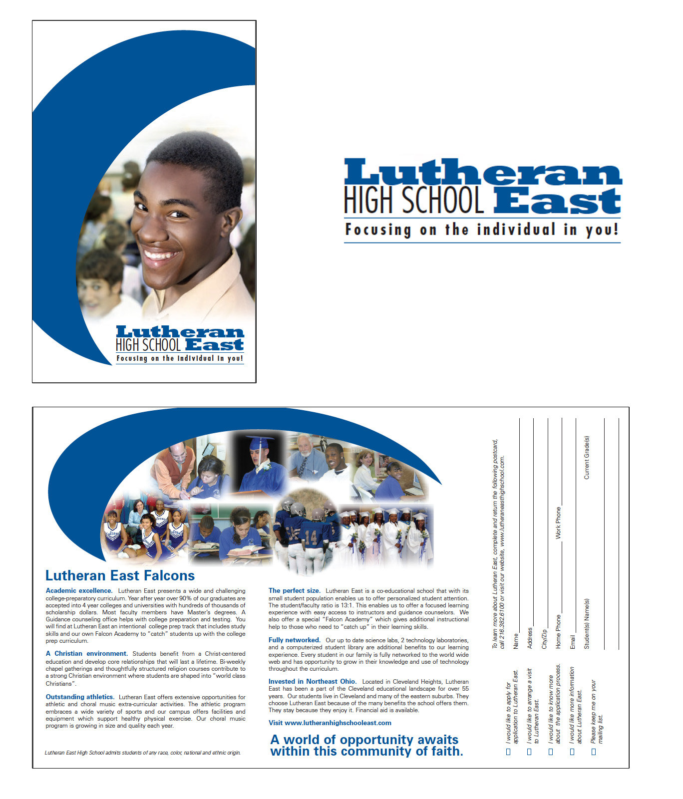 Lutheran HS East Mailer
