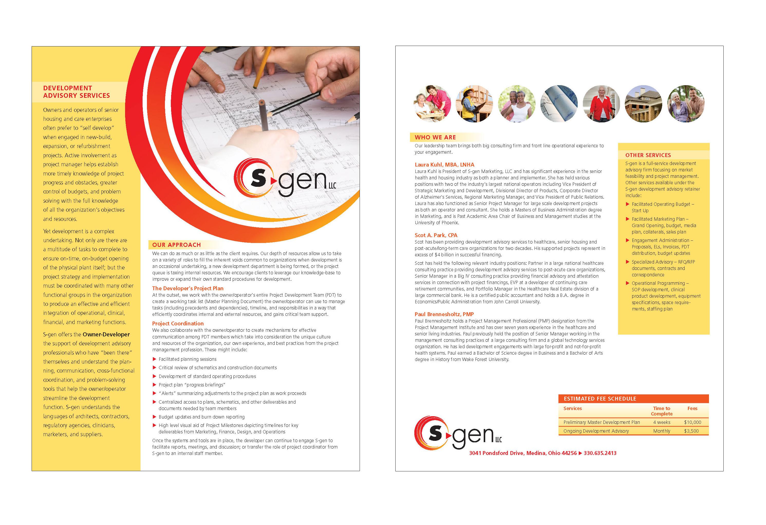 SGen Sales Sheet