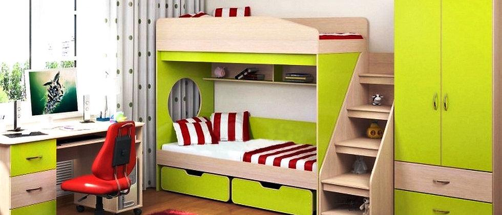 Набор детской мебели Apple (полный)