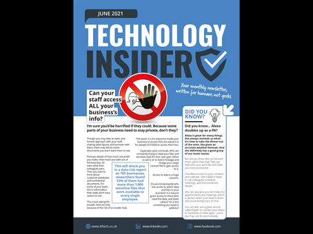 Technology Insider: Can your staff access ALL your business's info?