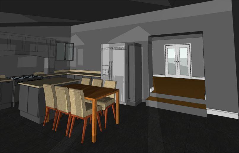 Creigiau Existing Kitchen View