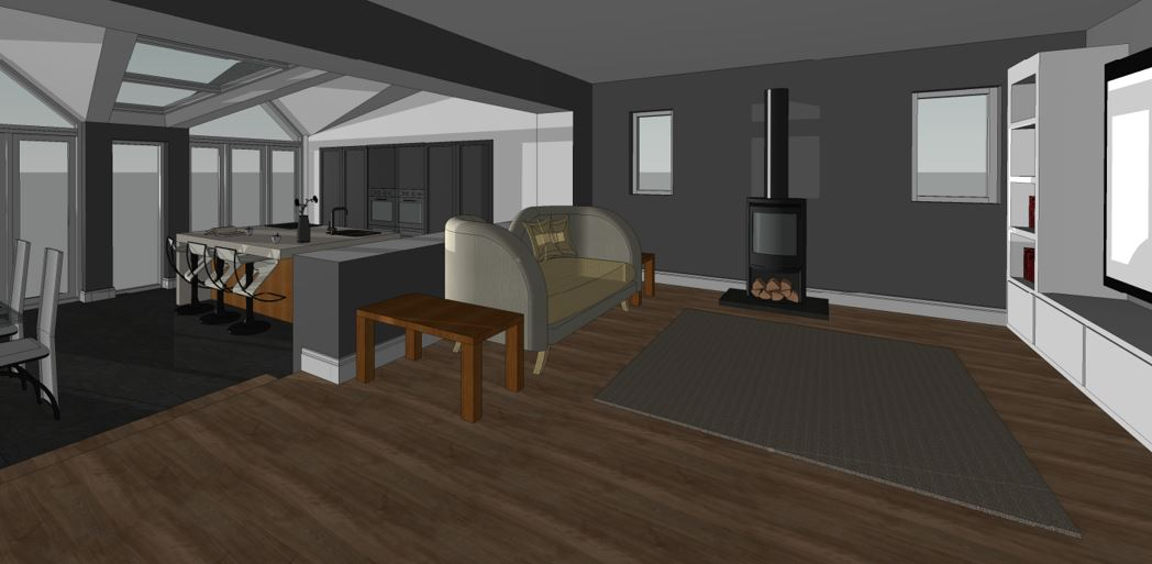 Creigiau Proposed Living Room