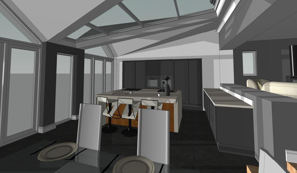 Creigiau Proposed Kitchen