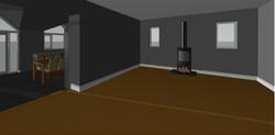 Creigiau Existing Living Room