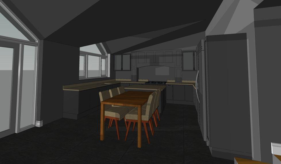 Creigiau Existing Kitchen