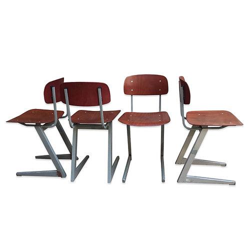 Angular Galvanitas Pagwood Industrial Chair