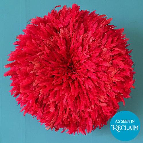 Pink Feather JuJu Head Dress