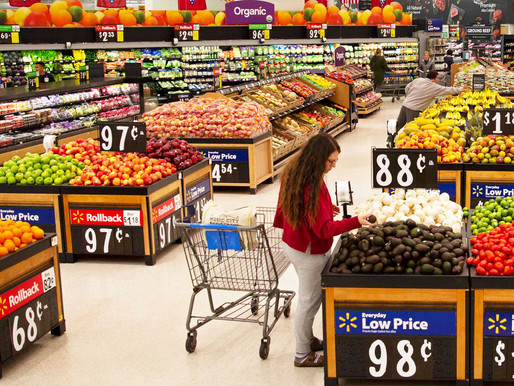 Walmart Refreshes Produce Experience